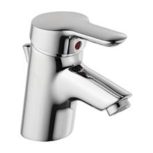 Rosita washbasin mixer 1 hole single lever, pop-up waste