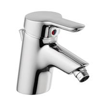 Rosita bidet mixer 1 hole single lever with pop-up waste
